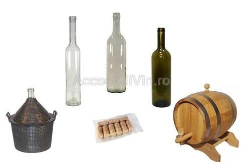 Butelii sticla si damigene (Small)