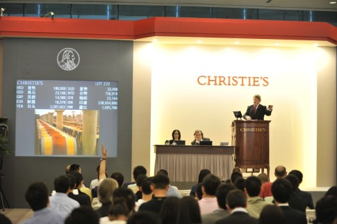 Christie's Spring Wine Auction
