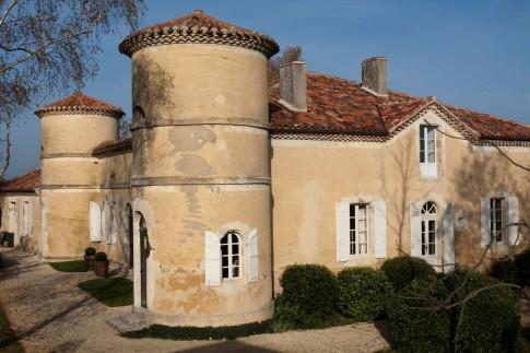 Chateau du Tariquet en couleur