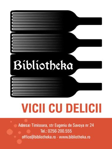 macheta BIBLIOTHEKA