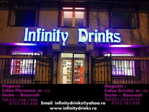 macheta INFINITY DRINKS