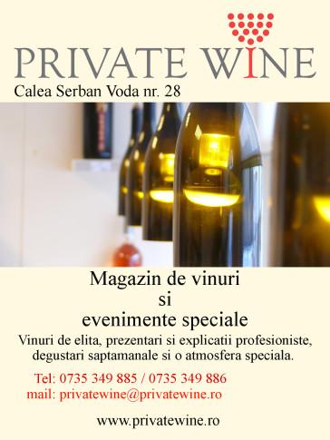 macheta PRIVATE WINE
