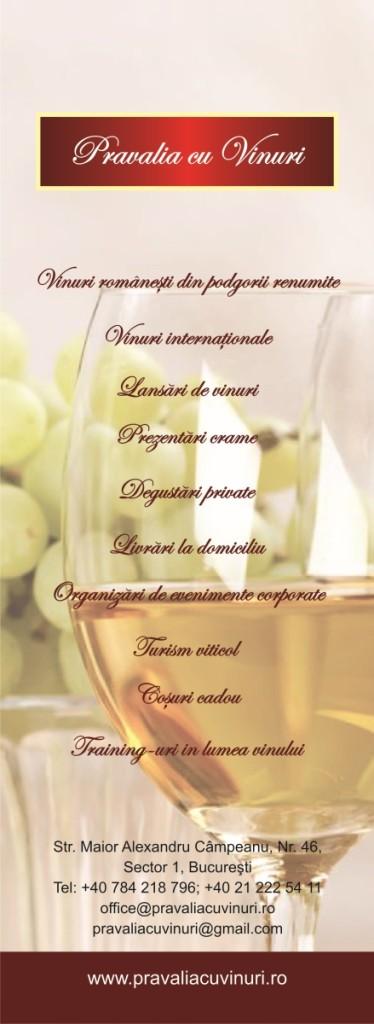 macheta Pravalia cu vinuri