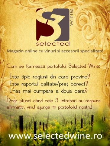 macheta SELECTED WINE