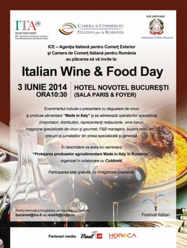 italian wine & food day