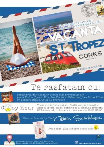 Invitatie Vacanta St. Tropez MICA