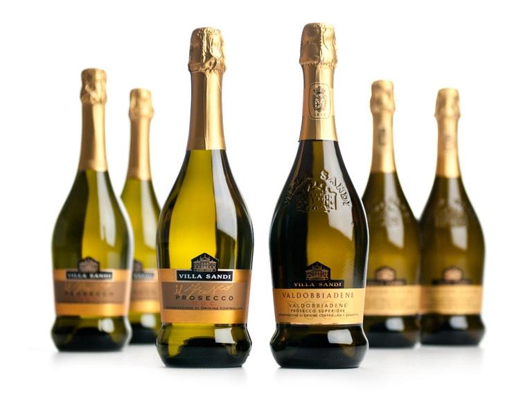 Villa Sandi bottles