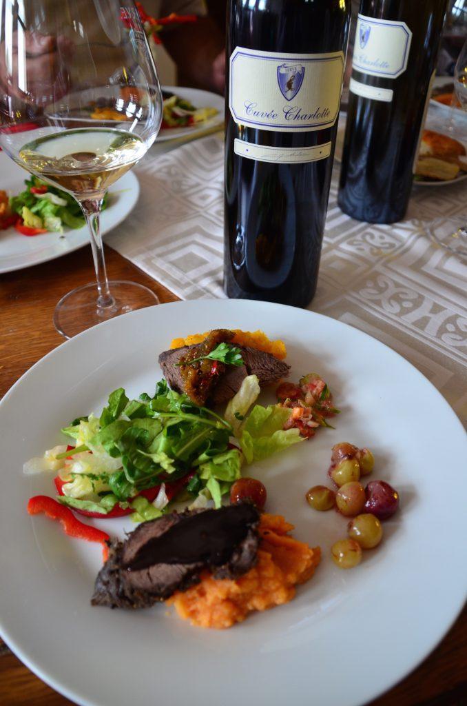 Serve Wine pairing