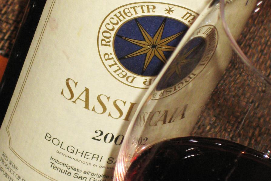 Sassicaia cover