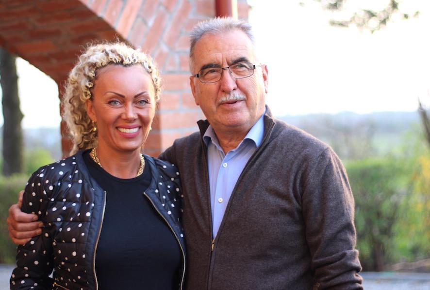 Paolo Menini si doamna cevadesperiat