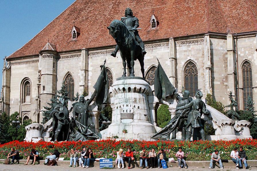 Piata Matei Corvin Cluj
