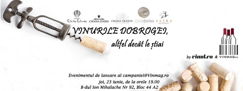 Afis campanie vinurile dobrogei