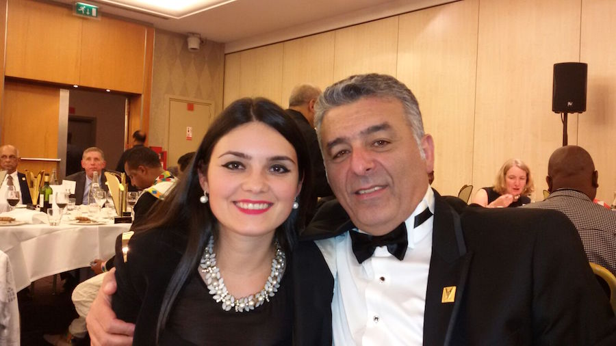 Anita Panait si Joseph Hadad
