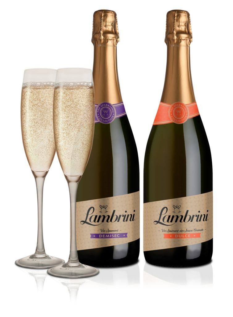 Lambrini Sparkling Demi Sec and Duce 75cl
