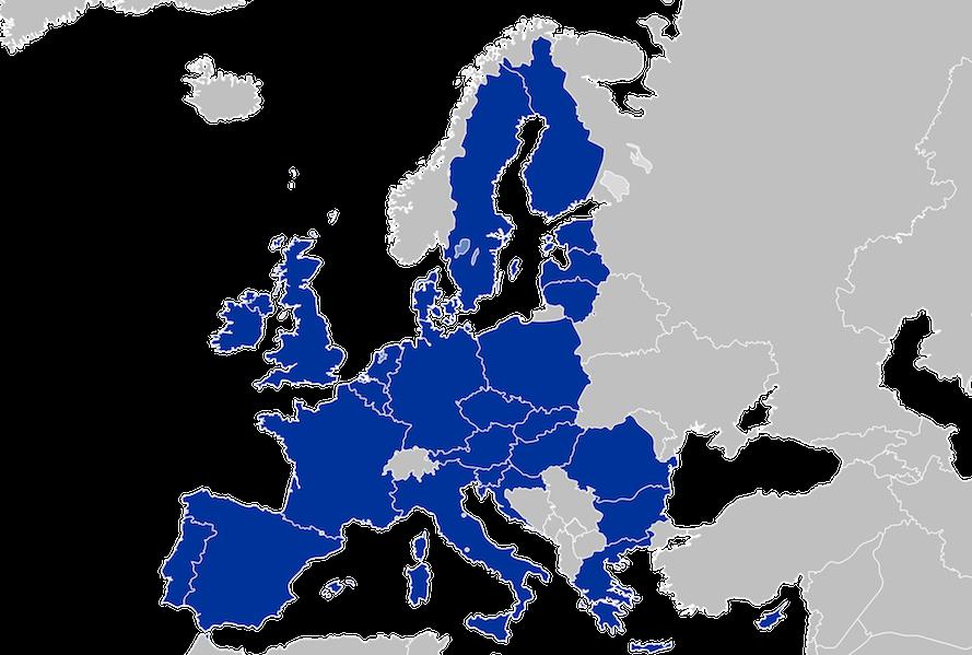 Harta europei inregistrare marci