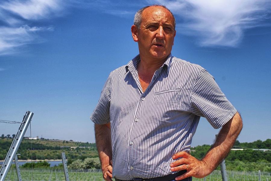 Antreprenorul Panait Trantu (Iota) activează de peste 30 de ani în viticultura dobrogeană