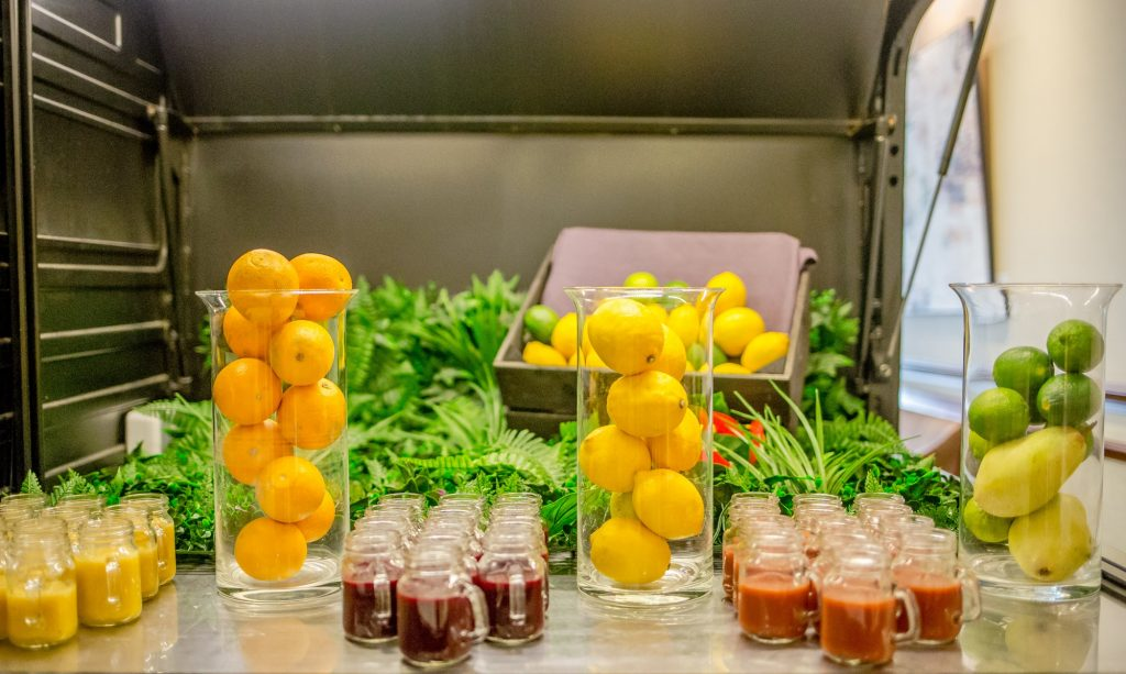 Hilton Brunch-smoothie bar