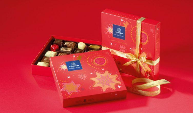 Ciocolata de la Leonidas, cel mai dulce și rafinat cadou de Craciun!