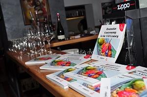 The Book Romanian Gastronomy in the XXI Century was realised with support from the first private winery in Romania / cartea Gastronomie românească de secol XXI a fost realizată cu sprijin din partea primei crame private cu capital străin din România - SERVE