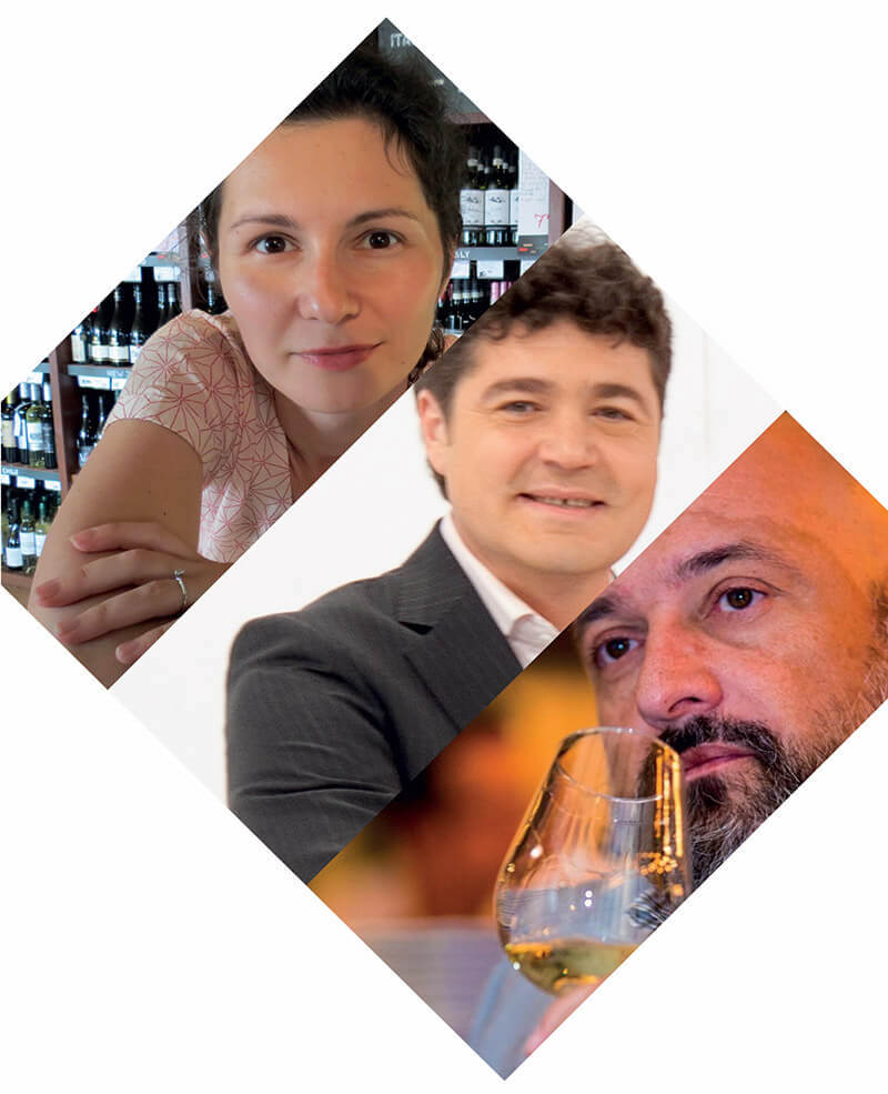Coordonatori VINARIUM editia pentru Centenarul Marii Uniri: Ana Sapungiu, Catalin Paduraru, Cezar Ioan