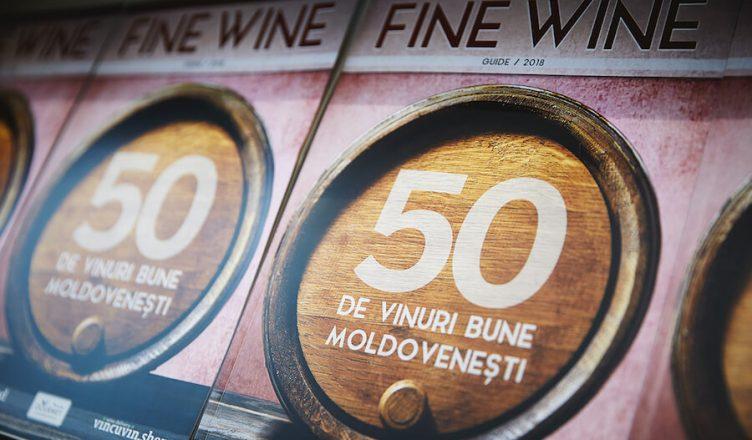 Fine Wine Guide 2018 este un ghid ce contine 50 de vinuri reprezentative din Republica Moldova, realizat de Andrei Cibotaru și Victor Bunescu