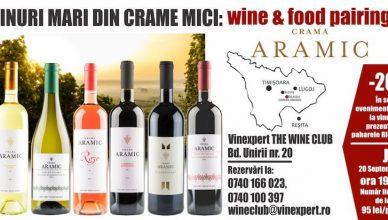 The Wine Club by Vinexpert începe seria degustărilor de vinuri de la crame mici dar de calitate din România