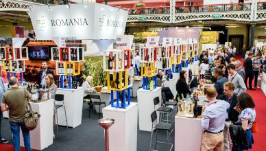 london wine fair standul romaniei