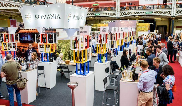 london wine fair standul romaniei