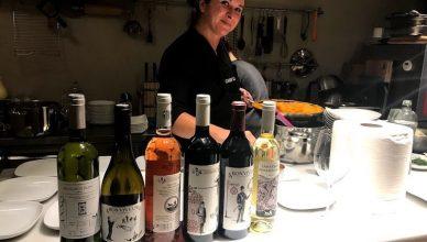 Ileana Braniște a semnat meniul serii speciale de degustare a vinurilor Licorna, la VINO wine bar