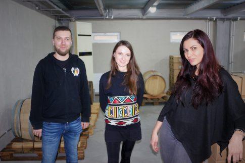 În vizită la Oriel, alături de Ioana Coca și Laurențiu Mândrilă