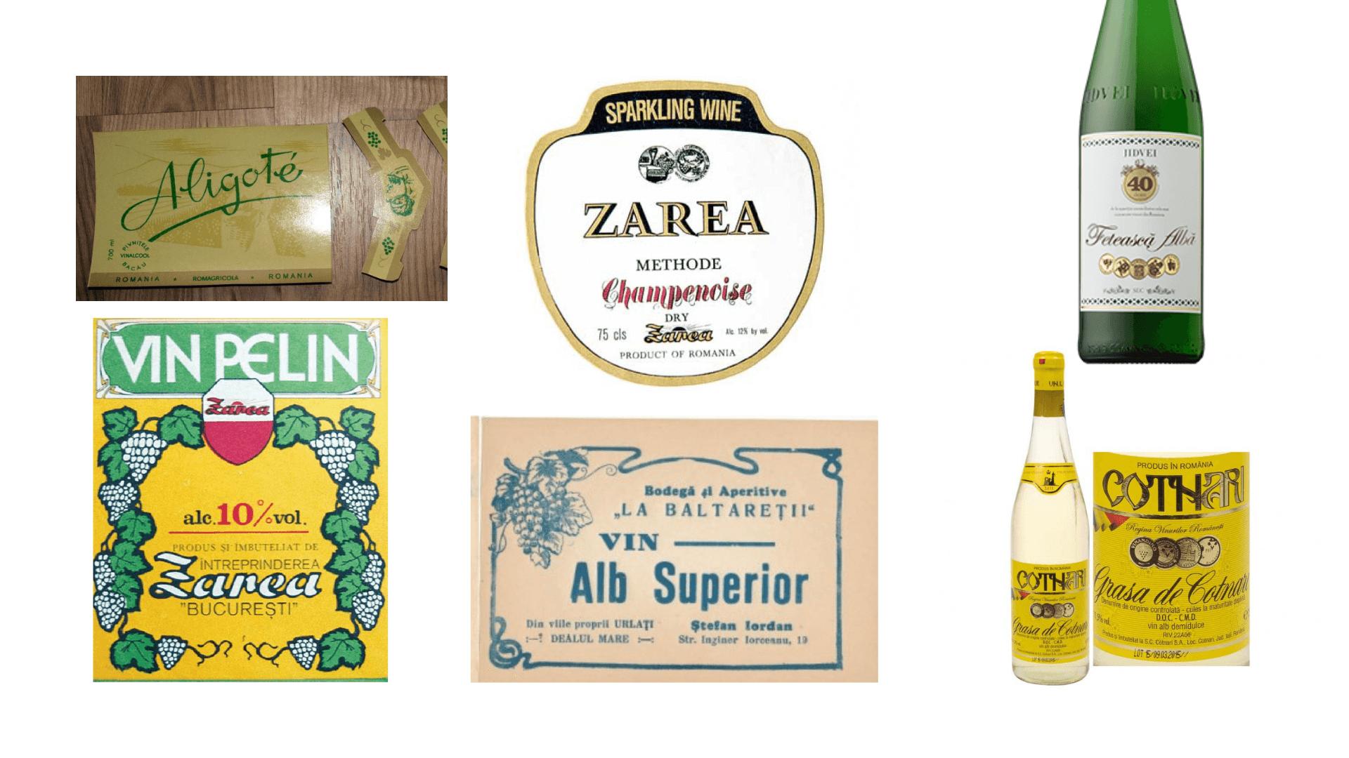 Etichetele tradiționale, retro sau CAP-iste