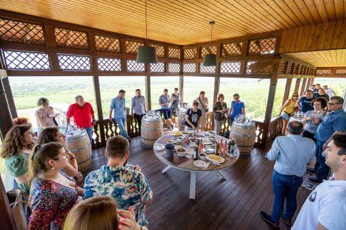 Oaspeții pot afla direct de la winemakeri poveștile din spatele vinurilor, pot degusta vinurile în asociere cu gustări și preparate culinare potrivite și se pot bucura de socializare în spațiile special pregătite de crame