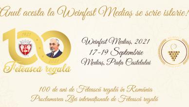 Ziua internațională de Fetească regală va fi proclamată solemn în cadrul Festivalului de vin Weinfest Mediaș, derulat între 17 și 19 septembrie