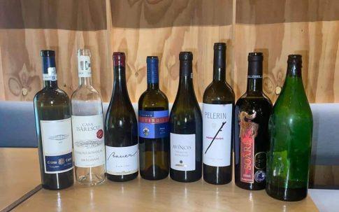 Cele 7 vinuri degustate au fost de la cramele din Oltenia