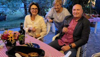 Mihaela Tyrel de Poix, Rodica Ana Căpățînă, Gabriel Roceanu - conducătorii cramelor fondatoare ale inițiativei TreiPentruVin.ro (SERVE Ceptura, VINARTE România, Crama Oprișor)