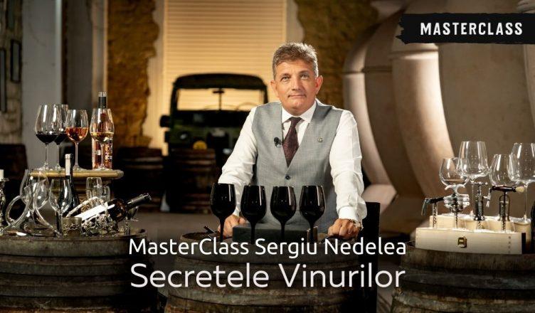 Sergiu Nedelea, fondatorul Winetaste School, predă cursuri de vin pe platforma Life University
